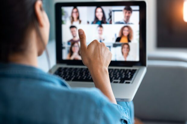 Image of virtual meeting